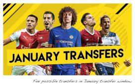 Some major transfers that are possible in January