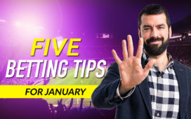 Five betting tips from January